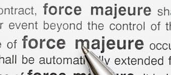 FRUSTRATION OF CONTRACTS AND APPLICABILITY OF FORCE MAJEURE AMIDST COVID-19