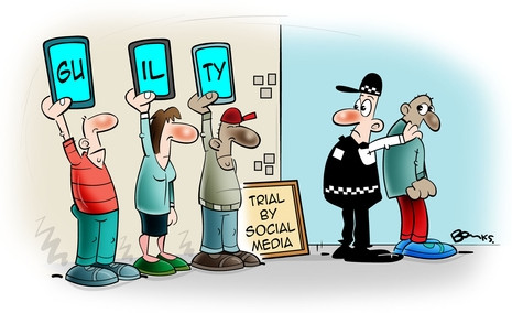 THE SOCIAL MEDIA JURY- TRIAL BY MEDIA AND ITS EFFECT ON THE LAW