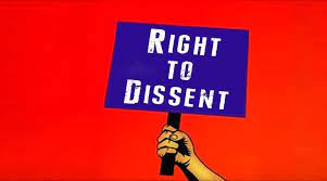 """THE FADING RIGHT OF """"DISSENT"""" - AN INVESTIGATION"""