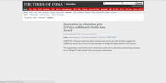 Times of India-July 31st- 2012.jpg