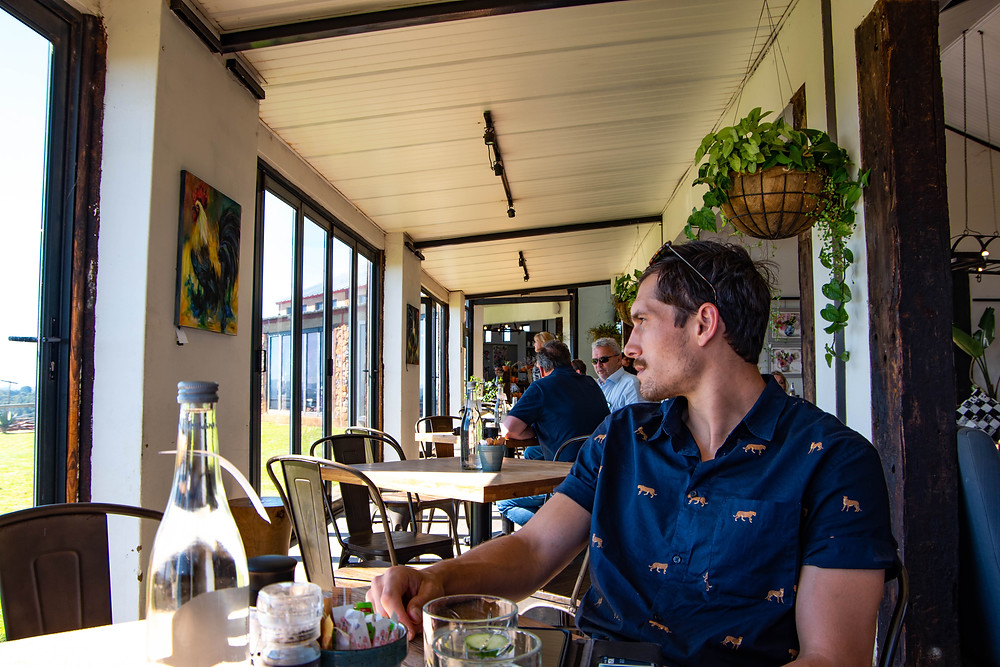 Exploring the Midlands at Blueberry Cafe in South Africa