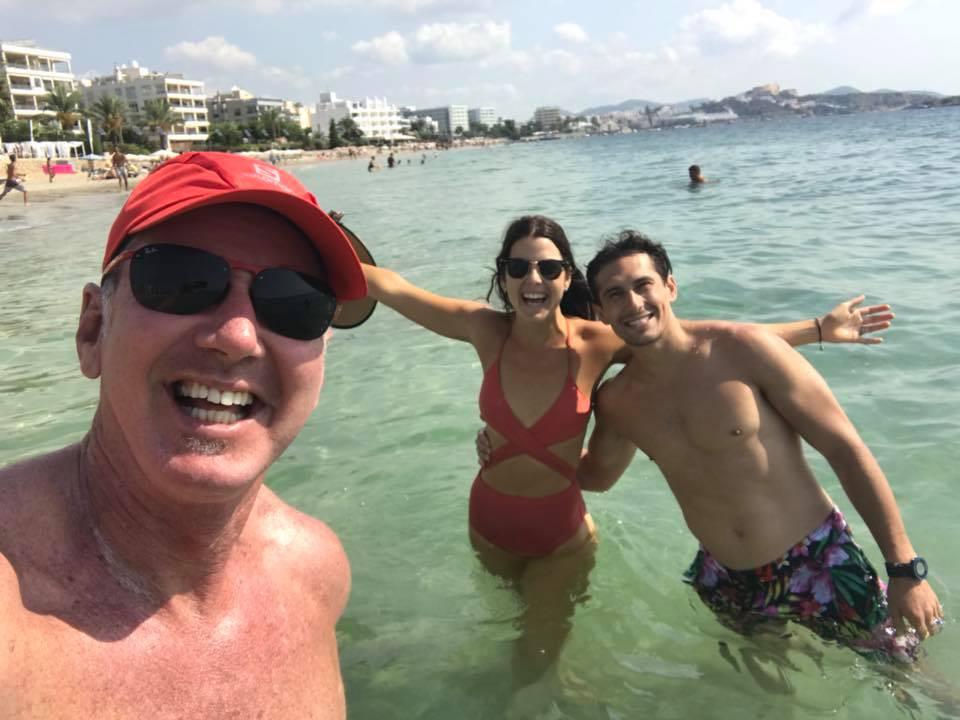 Playa den Bossa - beach with the bets dudes