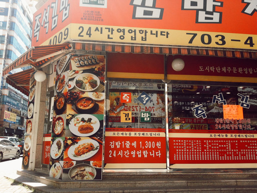 Korean 한글 Lesson: Restaurant Edition (How to order from a menu)