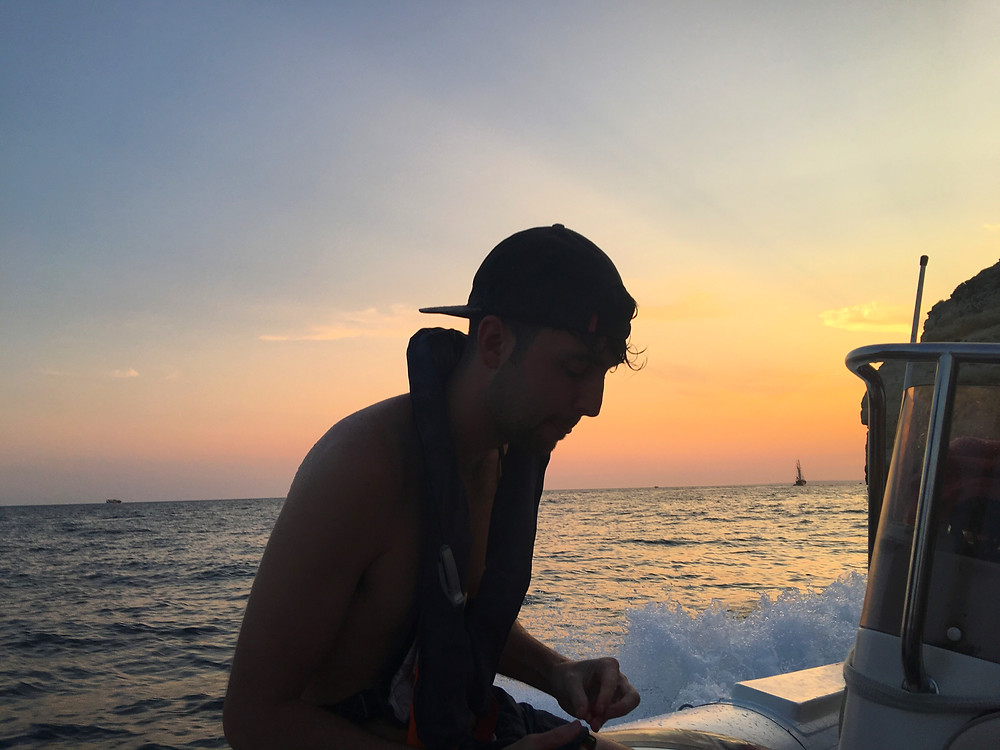 Boat views by sunset