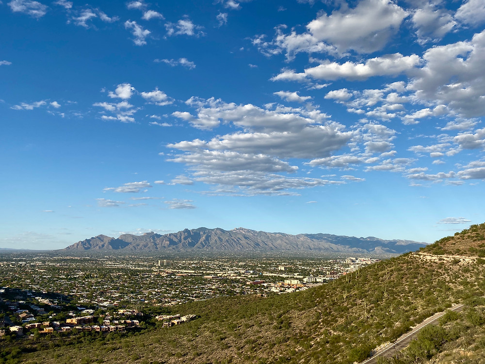 View from Tucson's Sentinel Peak