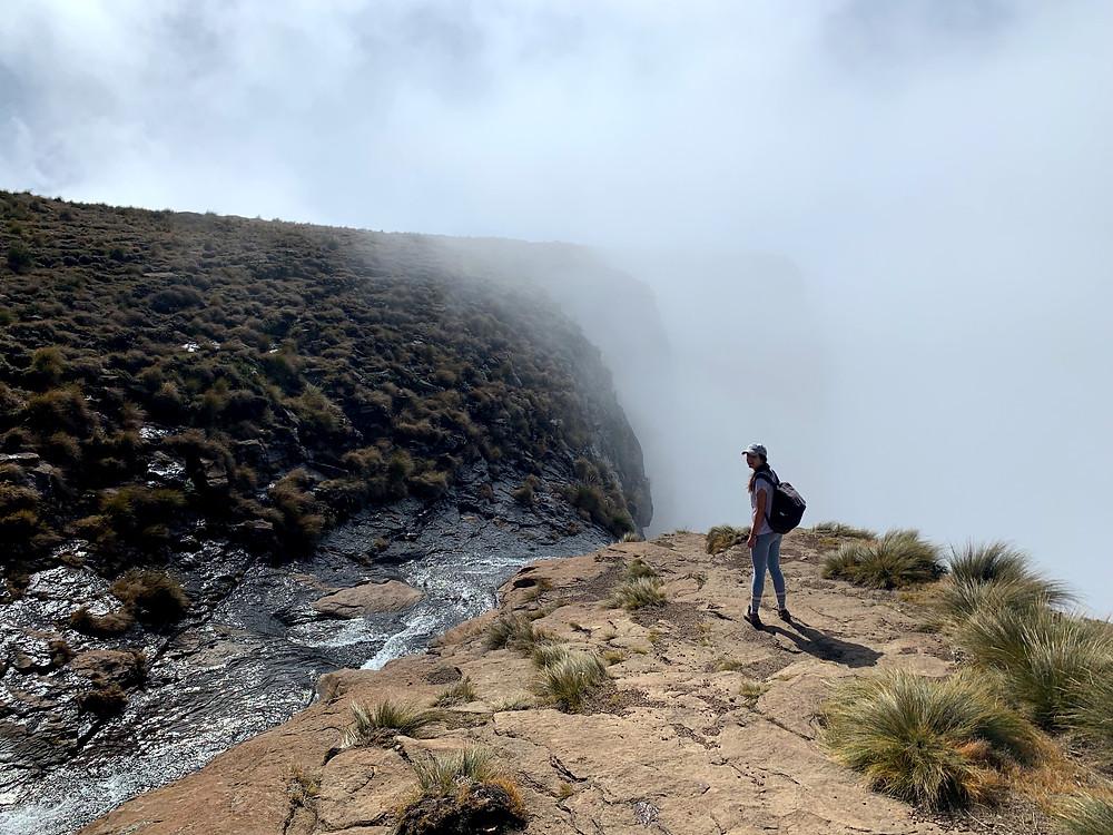 End point of the Chain Ladder hike aka Sentinel Peak, South Africa