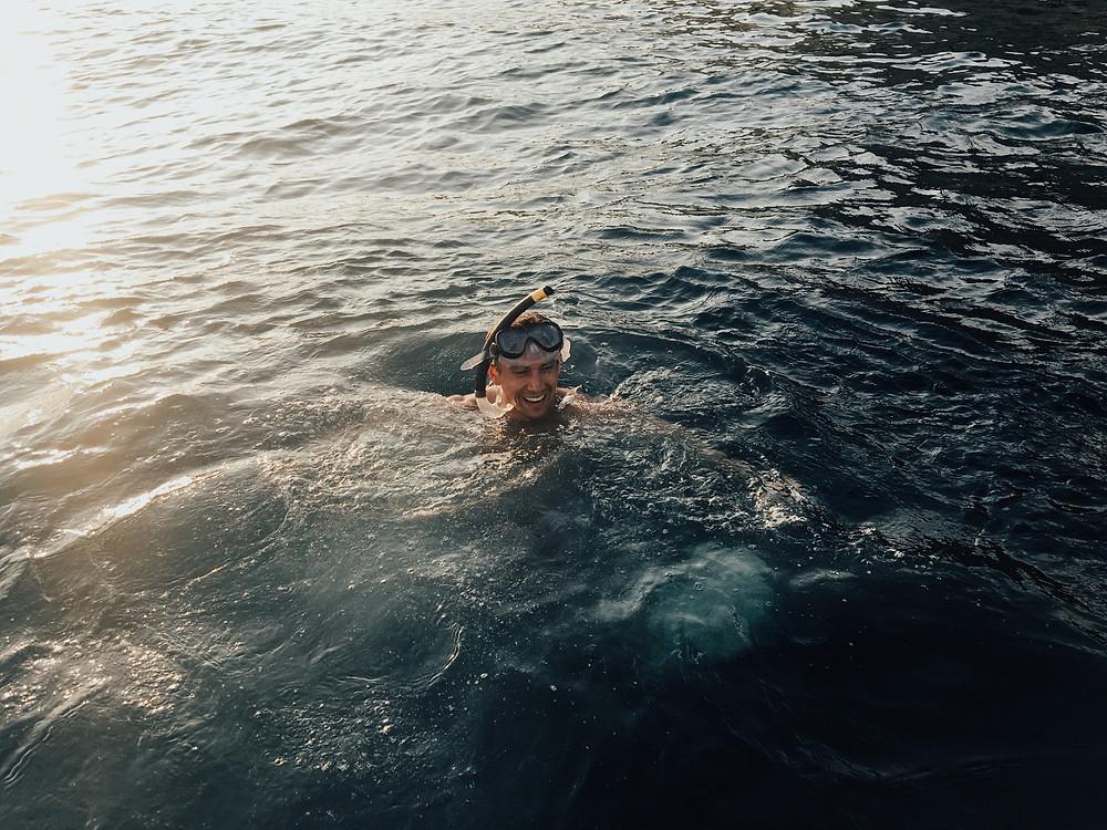 Found your happy place: salt, sun, sea