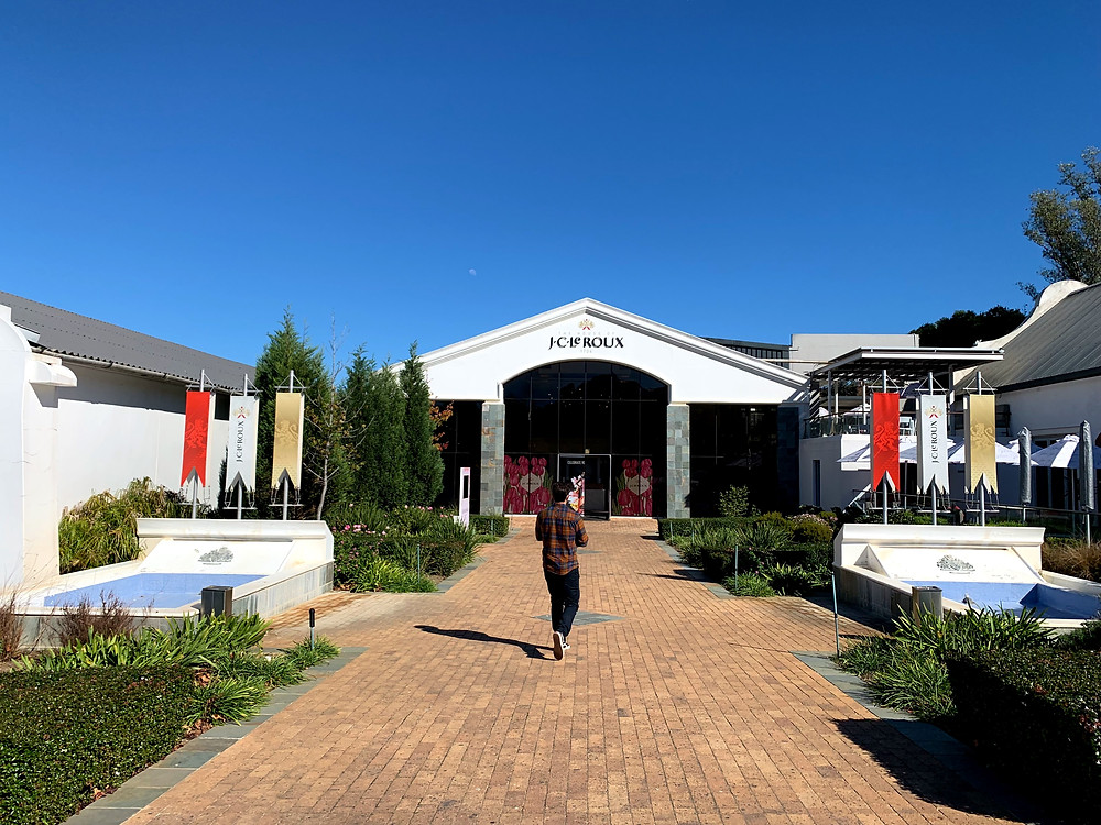 The House of JC Le Roux in Stellenbosch