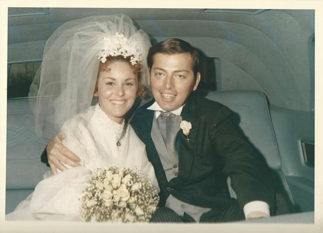 Tom and Jan wedding in car.jpg