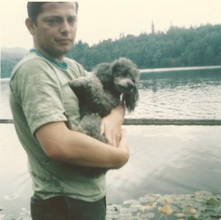 Tom and grandma kate_s dog.jpg