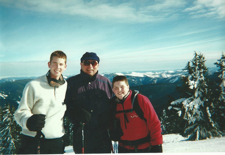 T and the boys skiing.jpg