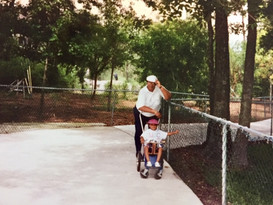 019-Nancy with her granddaughter, Lyndse