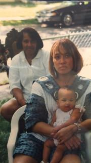 Mom, Keelani, and Tarsha