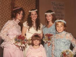 001 Aunt Dede_s wedding Vickie, Dede, Ni