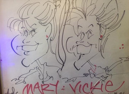 006 Mary and Vickie at Christmas Party 1
