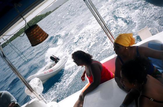 Mom on her black boaters trip LadiesofKi