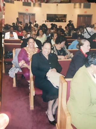 Mom and Tarsha Church Program.jpg