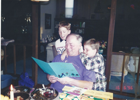 T and Shaun and Kev at his bday.jpg
