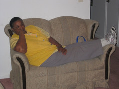 040-Nancy relaxing on the couch.JPG