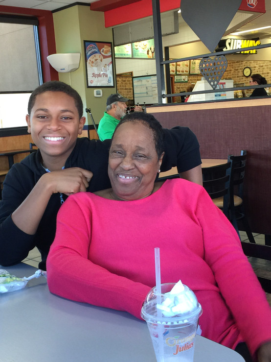 Mom and Grandson (Donnie).JPG