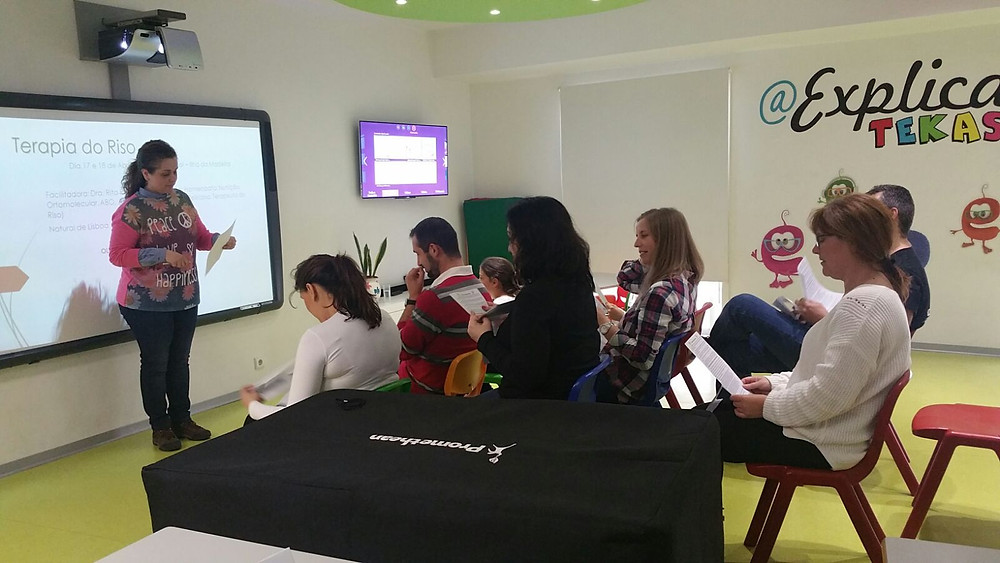 Workshops Terapia do Riso