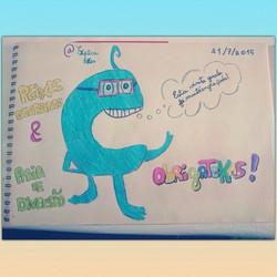 Instagram - O desenho que os nossos meninos fizeram no livro de honra do Palácio
