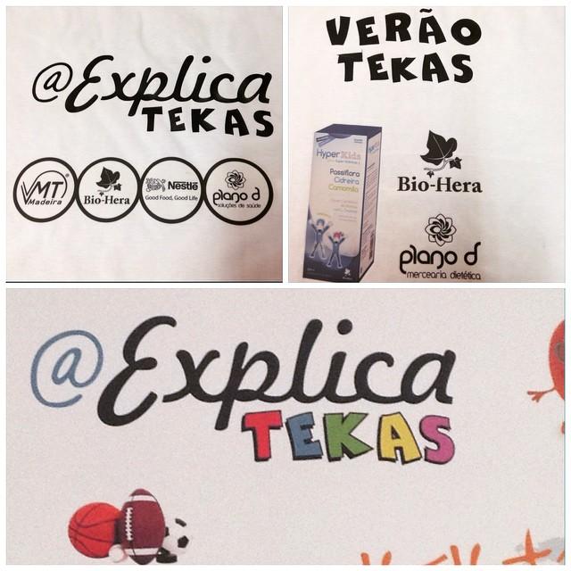 Instagram - Tshirts do #veraotekas #aexplicatekas 😉