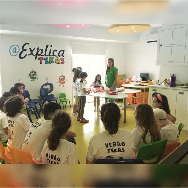 Instagram - Culinária com o apoio da #nestle 😄 #veraotekas #aexplicatekas