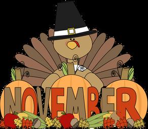 November Newsletter/Boletín de noviembre
