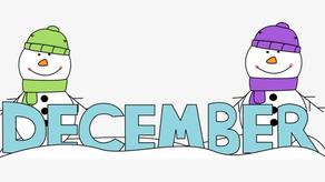 December Newsletter/Boletín de diciembre