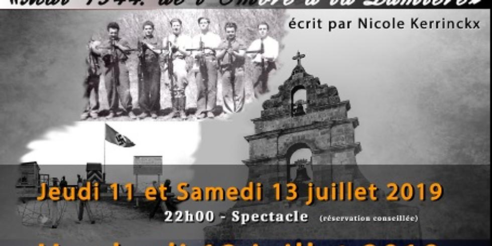 Spectacle historique nocturne