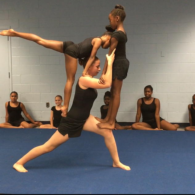 Gymnastics group