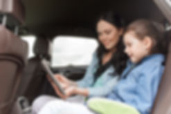 Mom and daugther use My-tti rideshare to work and school.