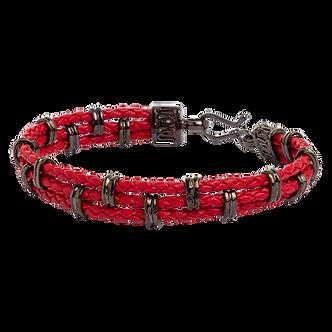 Pulseira Rings Vermelha