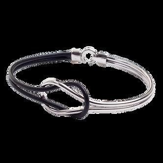 Bracelete Pulseira Masculina Lank Prata