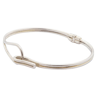 Bracelete Hoop Prata
