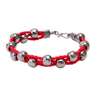 Pulseira Rope Red and Black