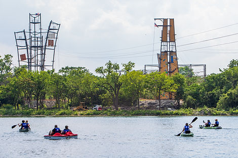 Paddlesports at The Forge: Lemont Quarries
