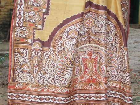 25th May 2021 at 6 pm: From Sarong to Sari: Rabindranath Tagore's fascination with the batik of Java