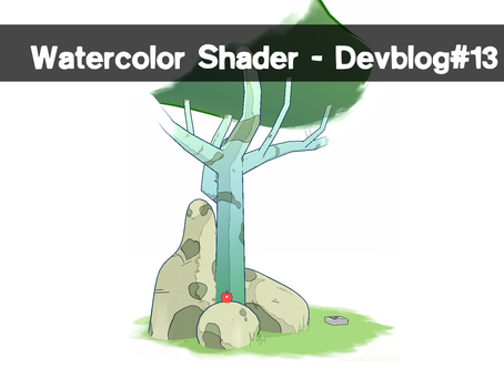 Watercolor shader - Devblog#13