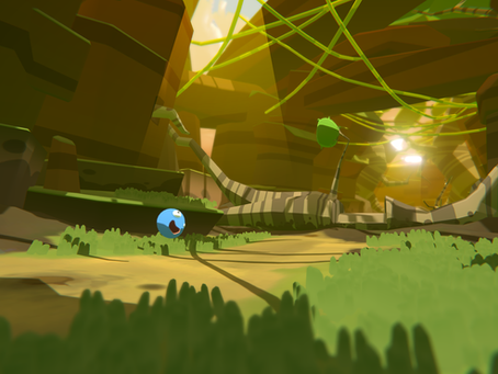 First screenshots of the gameplay