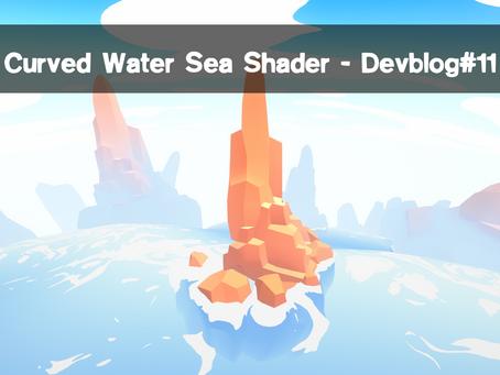 Curved Water Sea shader - Devblog#11