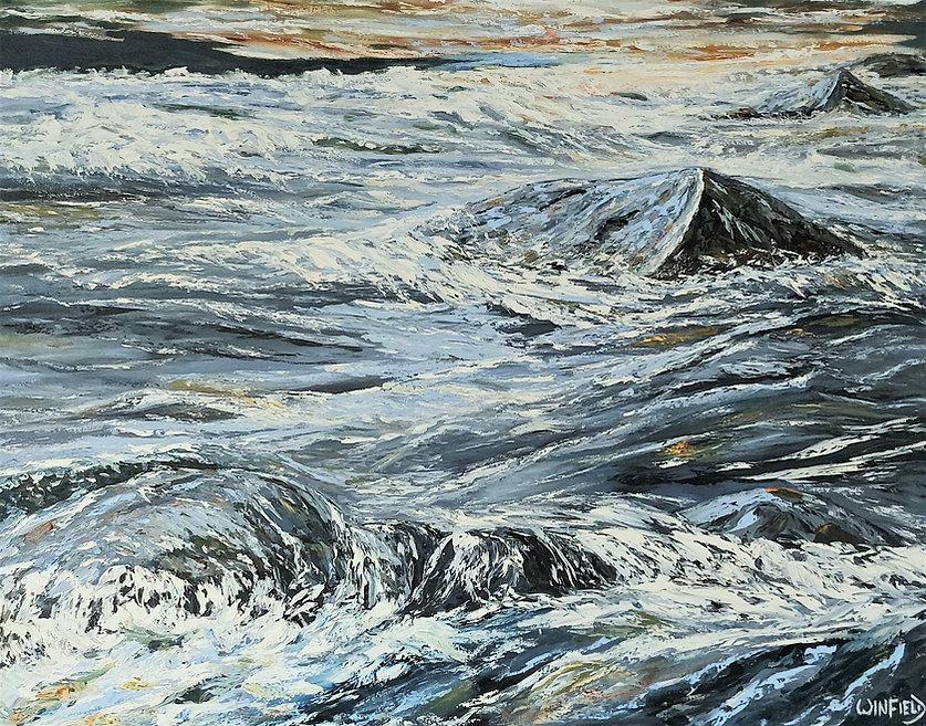 Darlene Winfield_ENGAGED_ 48 x 60_oil on