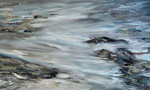 Arta Submission, Moving Softly, 18 x 36,