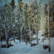 My Emerald Forest, 40 x 40.JPG