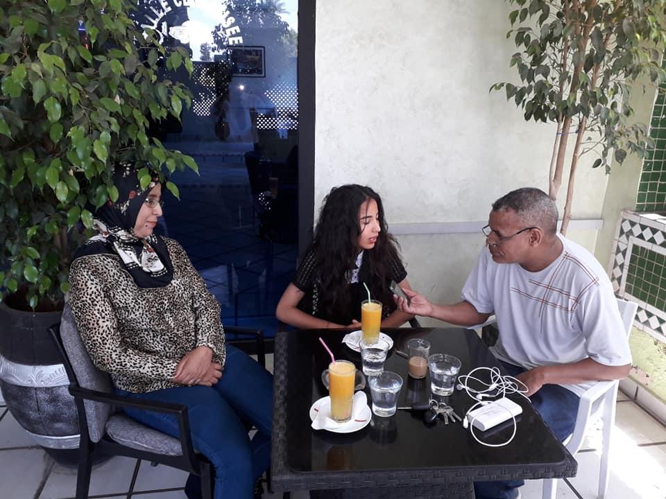 اماسي السمر مع رانيا جمال