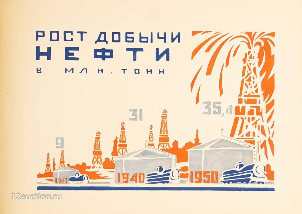 Лот 126. Послевоенный план восстановления народного хозяйства СССР