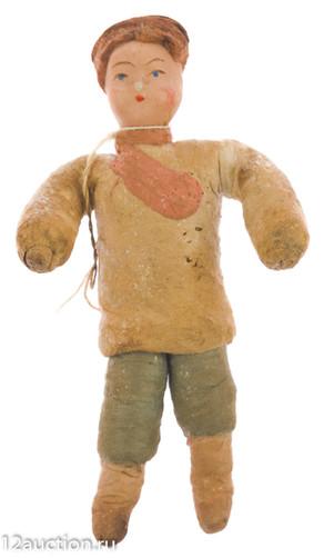 Лот 116. Мальчик в народном костюме