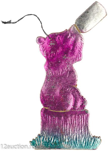 Лот 118. Медведь с бутылкой