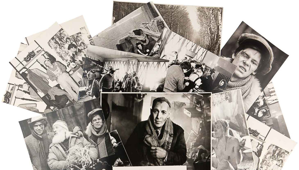 Лот 611. Архив фотографий со съемок филь